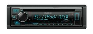 Kenwood KDC-BT378U 1-DIN Car Stereo CD Player Receiver with Bluetooth