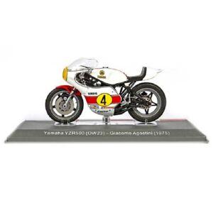Yamaha YZR500 OW23 Giacomo Agostini 1975 1:18 Ixo Salvat Diecast Moto GP