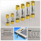 1x Isoclean hifi Fuse Gold Plated Fuses 5x20mm 6x32mm 1A 3A 5A