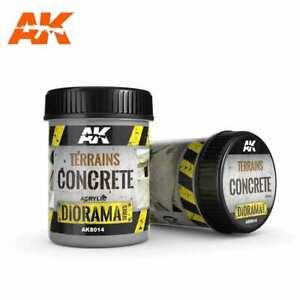 Ak Interactive AK8014 - TERRAINS CONCRETE 250ML