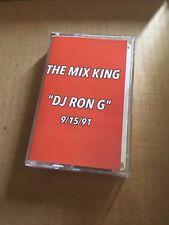 DJ RON G 9/15/91 CLASSIC HARLEM UPTOWN 90s Hip Hop NYC Cassette Mixtape