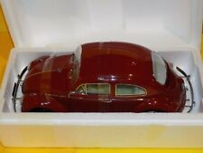 1961 Volkswagen Beetle Saloon Ruby Red Sunstar 5210 1:12