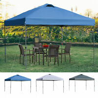 Outsunny 10' x 10' Outdoor Pop Up Canopy Tent Gazebo Adjustable Legs Bag