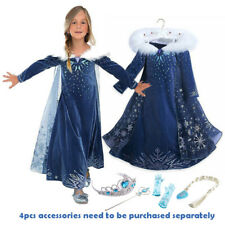 2019 New Release Girls Frozen 2 Elsa Costume Party Birthday Dress size 2-10Years