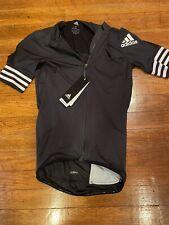 adidas Adistar Cycling Biking Jersey Mens Size Small Black cv7089 Bike Shirt