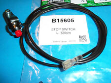 BBT STOP SWITCH FITS TILLERS MINI BIKES SNOW BLOWERS GO CARTS FOUR WHEELER 15605