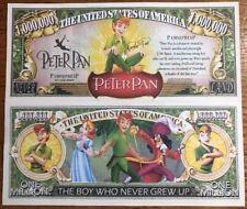 Disney Peter Pan Million Dollar Bill