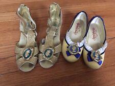 Disney Store- Princess Shoes- Snow White- Marida- Brave - Size 13-1