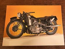 Vintage 1938 1000cc Scott 3 Cylinder National Motorcycle Museum Postcard