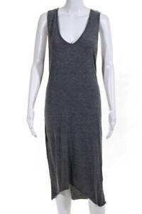 Nation Ltd by Jen Menchaca Womens Jersey Knit A-Line Tee Dress Gray Size XS