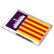 FRIDGE MAGNET - Mallorca (Balearic Islands,Spain) Flag
