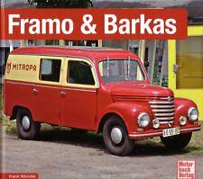 Book - Framo & Barkas 1923 1991 - DDR Lieferwagen - Schrader Chronik Ronicke