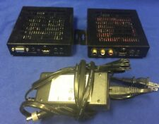 Lot of 2 Element-Hz HDBaseT HDMI/VGA/Audio Extender RS232 Control  POWERS ON