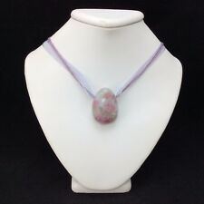 Pink Tourmaline Pendant Necklace 170906 Stone of Mental Strength Metaphysical