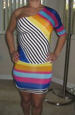 Woman Multicolor Casual Dress Size S