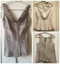 Lipsy New Look Warehouse Spotlight Women's tops bundle size 10