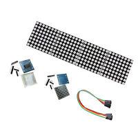 4 Stück-Set LED Matrix Modul 8x8 und 32x8 MAX7219 für Raspberry Pi