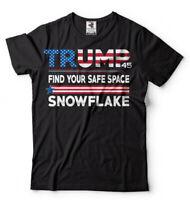 Find your safe Place Snowflake Trump 2020 Election T-shirt Donald Trump shirt