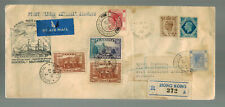 1939 Canada First Flight Cover FFC Montreal to Hong Kong Imperial airways via UK