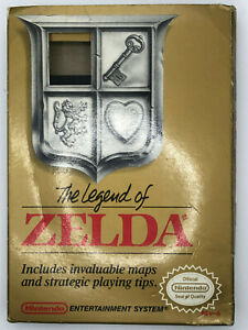 The Legend of Zelda (NES, 1987) GOLD CART - TESTED WORKING - CIB - SEE PICS