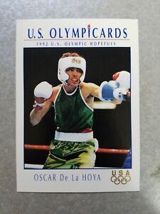 Oscar De La Hoya Boxing 1992 U.S. Olympic Hopefuls Impel Marketing Olympics USA
