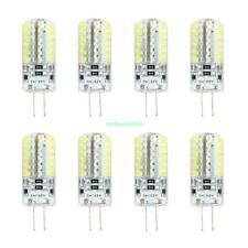 8PCS G4 LED BULB 5W 48 3014SMD LIGHT LAMP HALOGEN REPLACEMENT WARM WHITE 12V DC