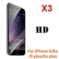 3x Clear Front Screen Protector LCD Film Foil Guard For APPLE IPHONE 6 6s