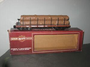 G Scale Bachmann Big Haulers ELY-Thomas Lumber Co Log Car