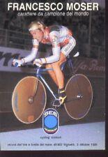 FRANCESCO MOSER cyclisme SEB WORLD RECORD CHAMPION Cycling ciclismo BRIANZOLI 86