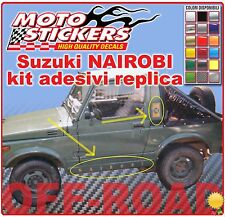 Suzuki Santana NAIROBI - Kit adesive replica