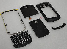 BlackBerry 9900,9930 Black USED LCD Screen & Digitizer +Complete Housing (USED)