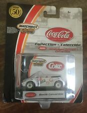 Matchbox Collectibles - Coca Cola ~ Beetle Convertible ~ NEW ON CARD
