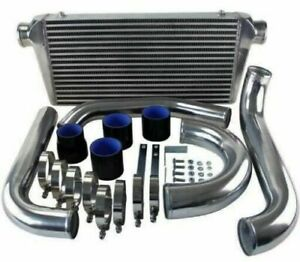 Front Mount Intercooler FMIC Kit for 93-02 Toyota Supra MK4 JZA80 2JZ-GTE 3.0 TT