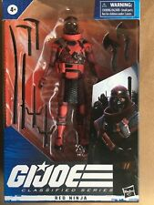 Gi joe Classified Series Red Ninja Figure 2020