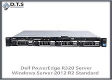 DELL PowerEdge R320 Server Intel Pt 1403V2 2.6GHz 24GB H310 Server 2012 R2 STD