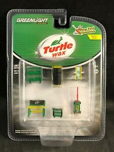 Greenlight Shop Tool & Accessories Series 1 Turtle Wax 1:64 Scale 16020-C NIB