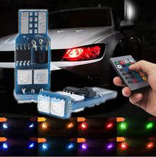 2Pcs RGB Canbus LED Error Free Eyebrow Eyelid Light For Mercedes Benz W204 C300