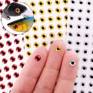 Holographic Fishing Lure Eyes 3D Fish Eyes Artificial Fish Eyes DIY Eyes