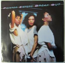 Pointer Sisters-Break Out-Planet Records-FL 84705-Vinyl-Lp-Record-Album-1980s