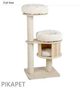 NEW HONEYPOT CAT Solid Wood Cat Climbing Tree Post 2501s AU STOCK