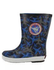 Clark Tarri Alfi Inf Blue Combi Boys Boots UK 9.5G