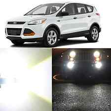 Alla Lighting Fog Light 5202 6000K Super White LED Bulbs for 2007~12 Ford Escape