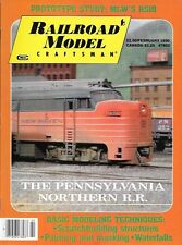 Railroad Model Craftsman  Feb.1990 Painting Masking Railroad Tugboat Warehouse