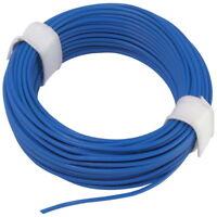 Ring 5m Kupferlitze 2 x 0,14 mm² isoliert Kabel Litze Schaltlitze blau 860277