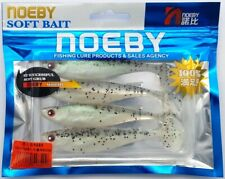 Noeby Soft Tail Swim Bait 4pc Pink//Salmon Color