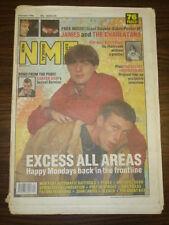 NME 1990 OCT 6 HAPPY MONDAYS JAMES PIXIES + FREE POSTER