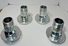 New Set of 4 Hub Extensions Splined Hubs for Wire Wheels for 1968-1980 MGB