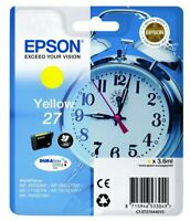 original Epson T2704 Tinte gelb WorkForce WF-7610 DWF C13T27044012  neu D