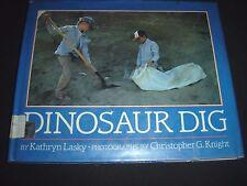 Dinosaur Dig by Kathryn Lasky (1990, Hardcover)