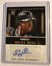 2013 Panini Pinnacle Rookie Autographs #MY Melky Mesa RC Auto Yankees
